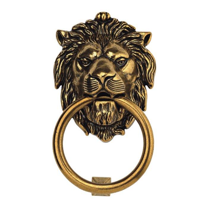 Lion Door Knocker  sc 1 st  Wayfair & Bosetti-Marella Lion Door Knocker u0026 Reviews   Wayfair