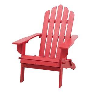 Breakwater Bay Katharine Solid Wood Folding Adirondack Chair