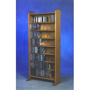 Wood Shed 800 Series 440 CD Multimedia Storage Rack