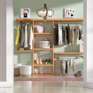 12 W Deep Solid Wood Premier Closet System