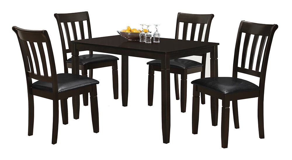 Red Barrel Studio Winnetka 5 Piece Dining Set Reviews Wayfair