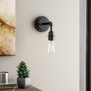 Reviews Kash 1-Light Armed Sconce By Williston Forge