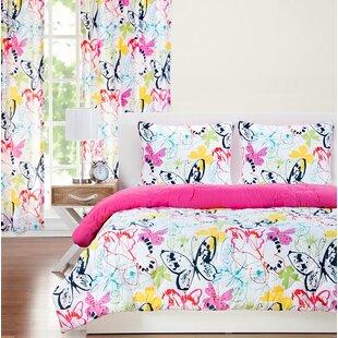 Flutter Reversible Comforter Set