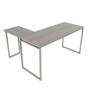 Best Reviews Monterey L-Shaped Corner Desk ByEbern Designs
