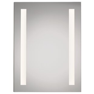 "Best Twombly LED Backlit 24"" x 36"" Recessed Medicine Cabinet with LED Lighting By Orren Ellis"