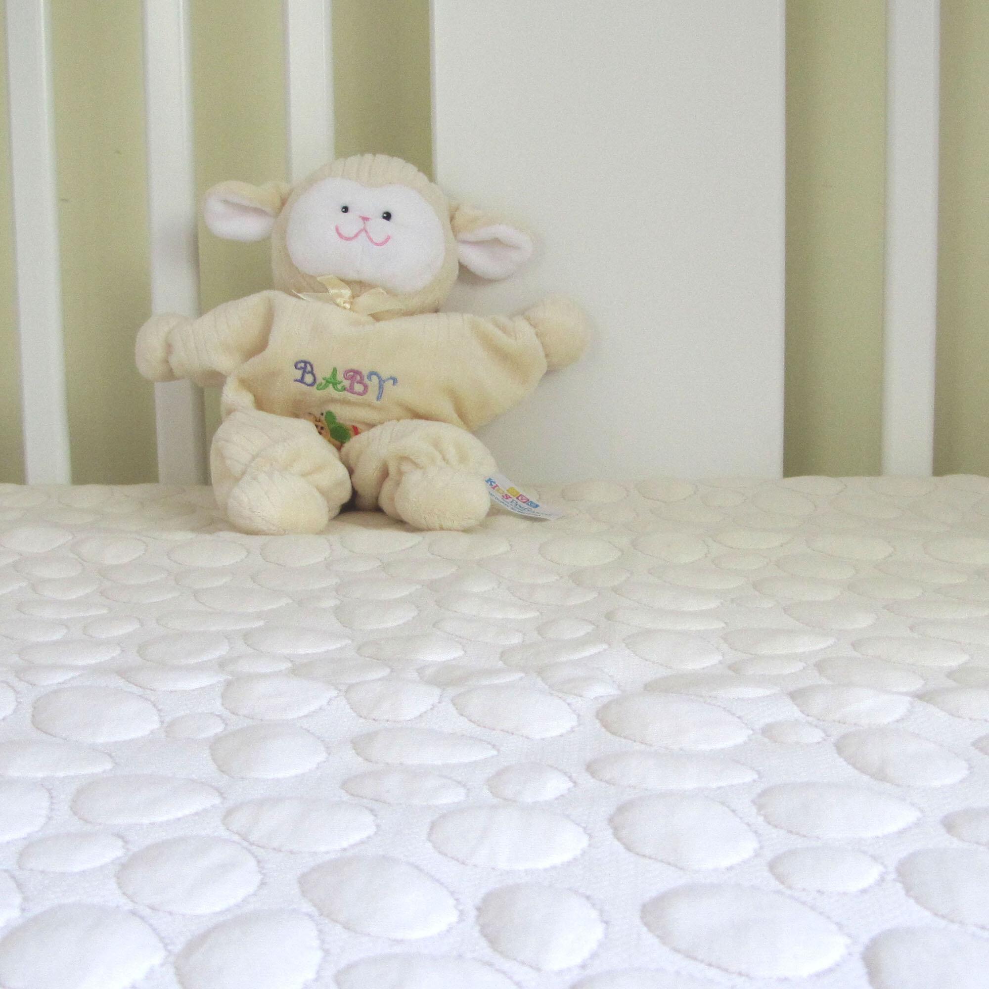 dream decor pebbletex my little nest crib mattress protector