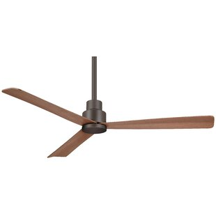 44 Simple 3 Blade Outdoor Ceiling Fan with Remote