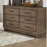 Alcantara 6 Drawer Double Dresser
