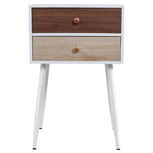 Bishop Bedroom 2 Drawers Nightstand by Trule Teen