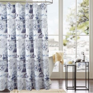 Lederman Classic Maritime Single Shower Curtain