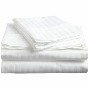 Engman 650 Thread Count Striped 100% Cotton Sheet Set