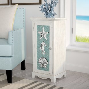 Demond Coastal Icons 1 Door Cabinet by Highland Dunes