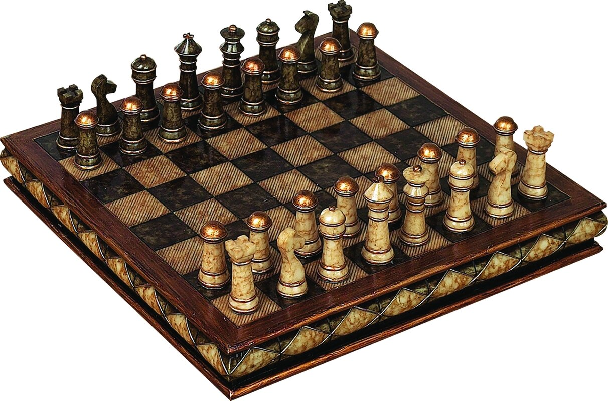 Astoria Grand Fiarmont Decorative Chess Set & Reviews | Wayfair