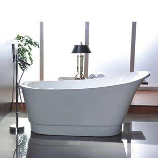 Deals 67 x 31.5 Soaking Bathtub ByLegion Furniture