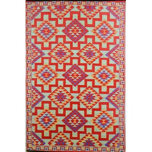 Croll Red Indoor/Outdoor Area Rug