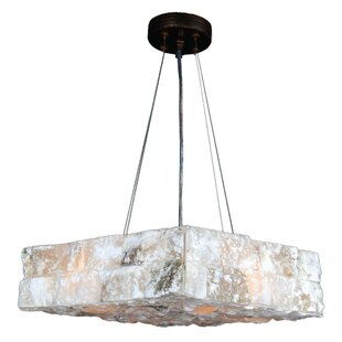 Rosecliff Heights Harwich 4-Light Square/Rectangle Chandelier