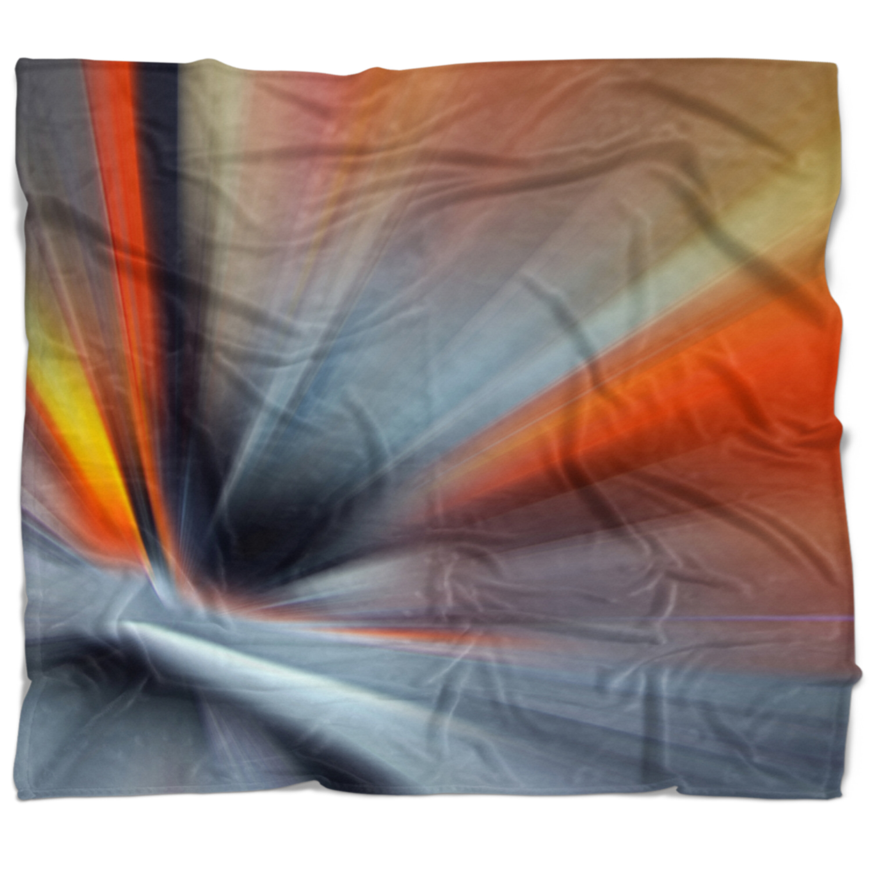 East Urban Home Abstract Rays Of Speed Large Lines Blanket Wayfair