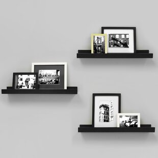Edge Picture Frame Ledge (Set of 3)