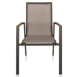 Pompilio Stacking Patio Dining Chair