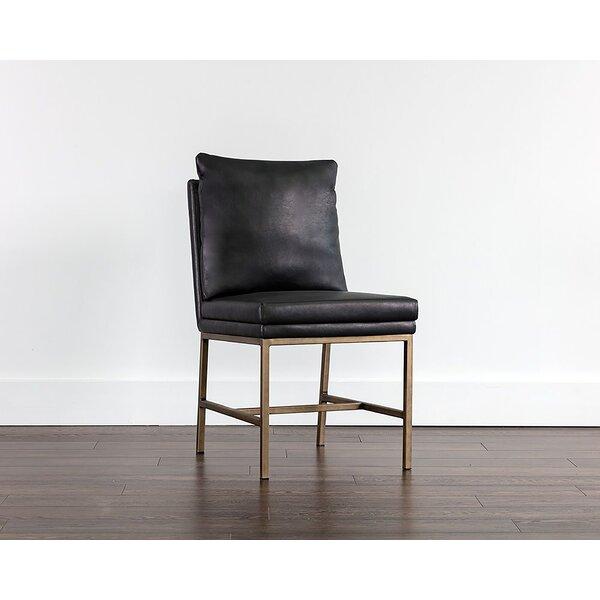 Everly Quinn Deatsville Upholstered Parsons Chair Wayfair
