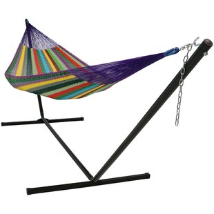 Kelsea Cotton Hammock with Stand by Freeport Park