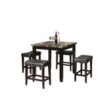 Billy-Ray 5 - Piece Counter Height Dining Set by Red Barrel Studio®