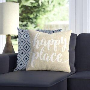 living room pillow. Happy Place Pillow Pillows  Joss Main