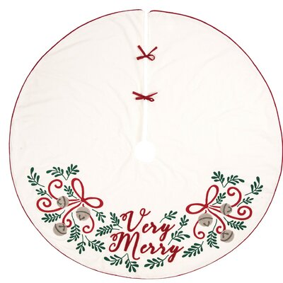 Very Merry Tree Skirt The Holiday Aisle