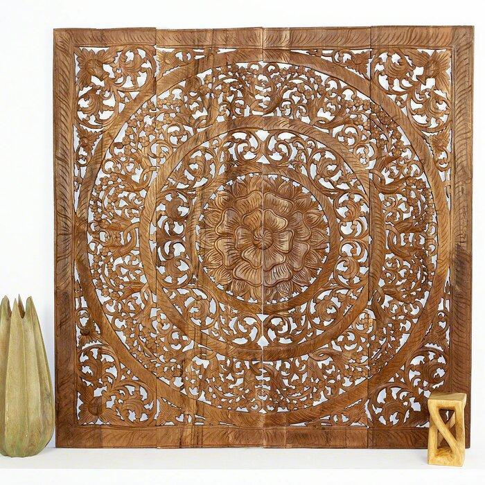 Wall Panel In Reclaimed Teak Wood Wall Decor