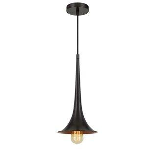 Ludie 1-Light Bell Pendant..