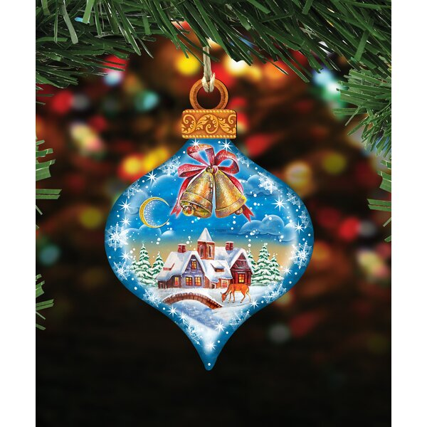 The Holiday Aisle Winter Drop Holiday Shaped Ornament Wayfair