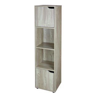Wood Storage 4 Cube Bookcase