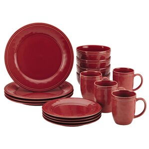 Marvelous Cucina 16 Piece Dinnerware Set, Service For 4