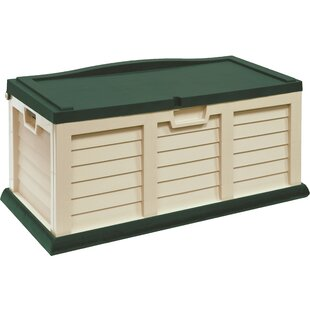 Starplast 71 Gallon Plastic Deck Box