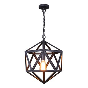 Rosemond 1-Light Geometric Pendant