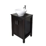 Zagorski 24 Single Bathroom Vantity Set by Wrought Studio™