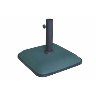 Square Cast Iron Free Standing Umbrella Base By Galileo