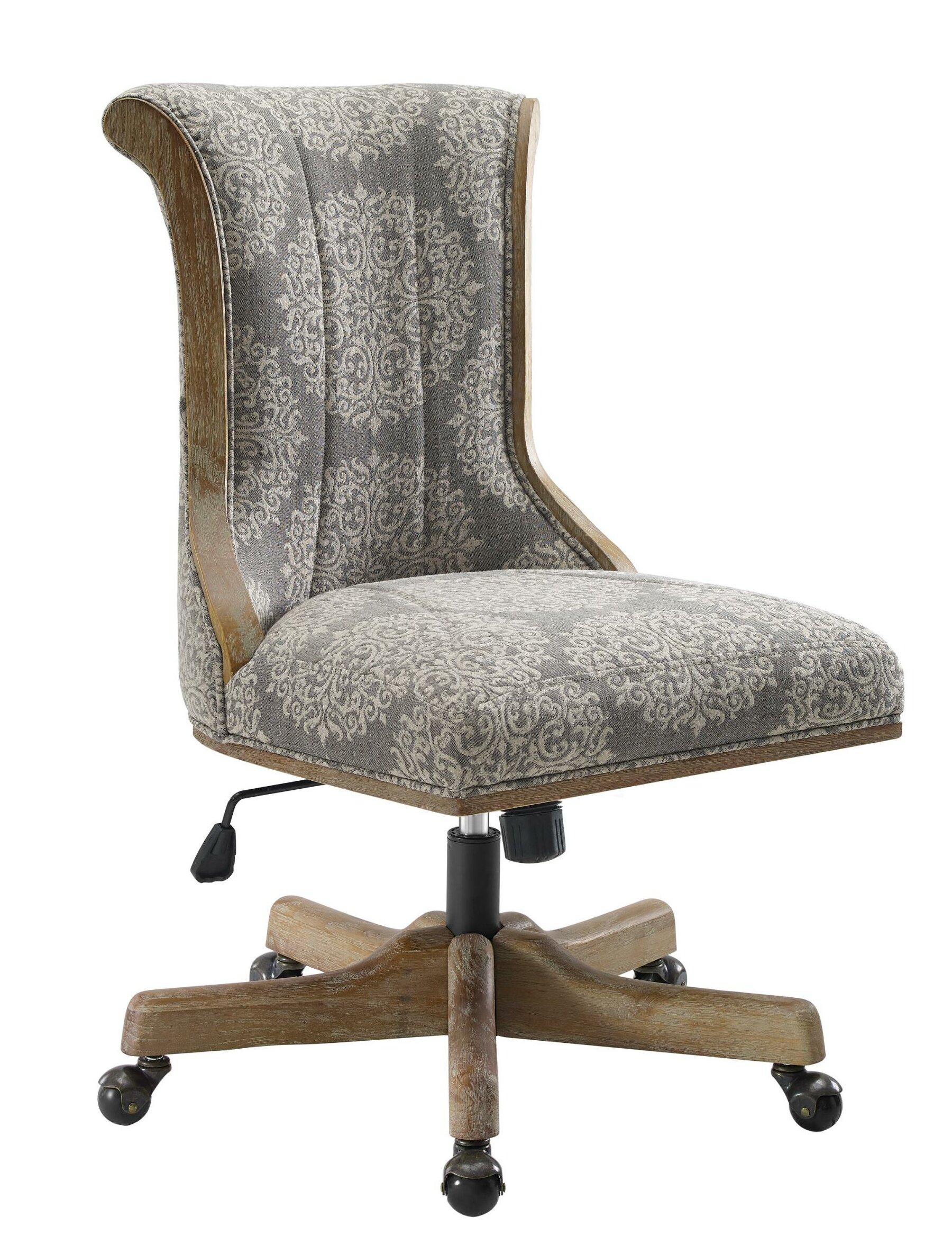One Allium Way Orrie Jacquard Task Chair Wayfair