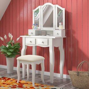 Avoca Vanity Set with Mirror by Red Barrel Studio