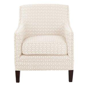 Metzinger Nailhead Armchair by Charlton Home