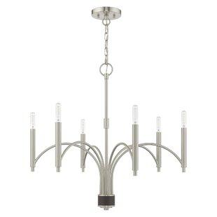 Mercer41 Harding 6-Light Candle Style Cha..