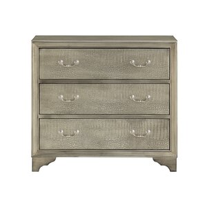 Castilleja 3 Drawer Accent Chest by House of Hampton