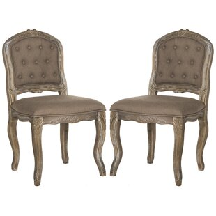 Tondreau Upholstered Dining Chair (Set of 2) by One Allium Way