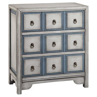 Adley 3 Drawer Chest by Stein World