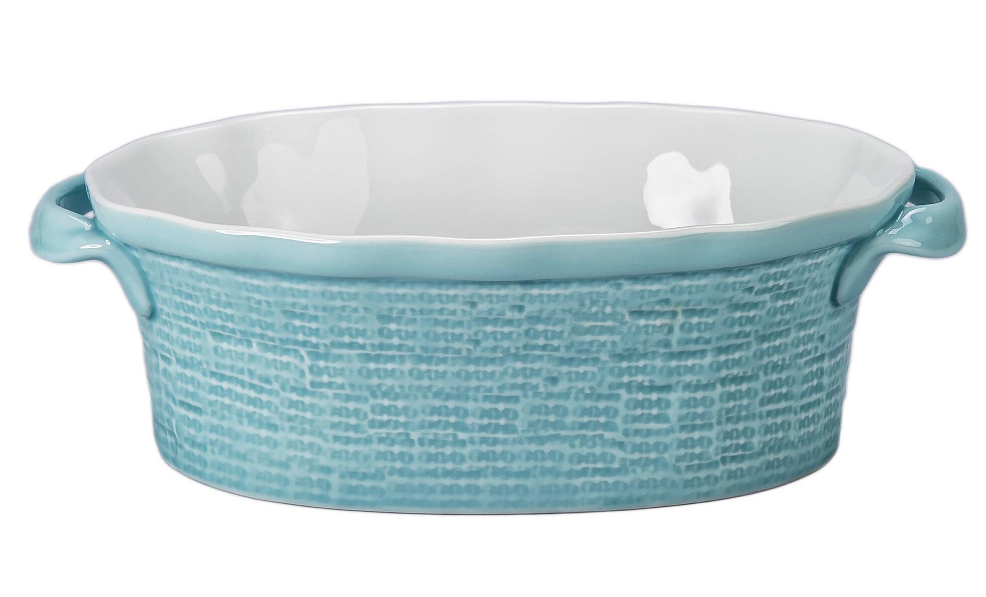 Bia Cordon Bleu Isabel 1 5 Qt Ceramic Oval Deep Baker With Handles Wayfair