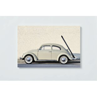 Classic Car Magnetic Wall Mounted Cork Board By Ebern Designs