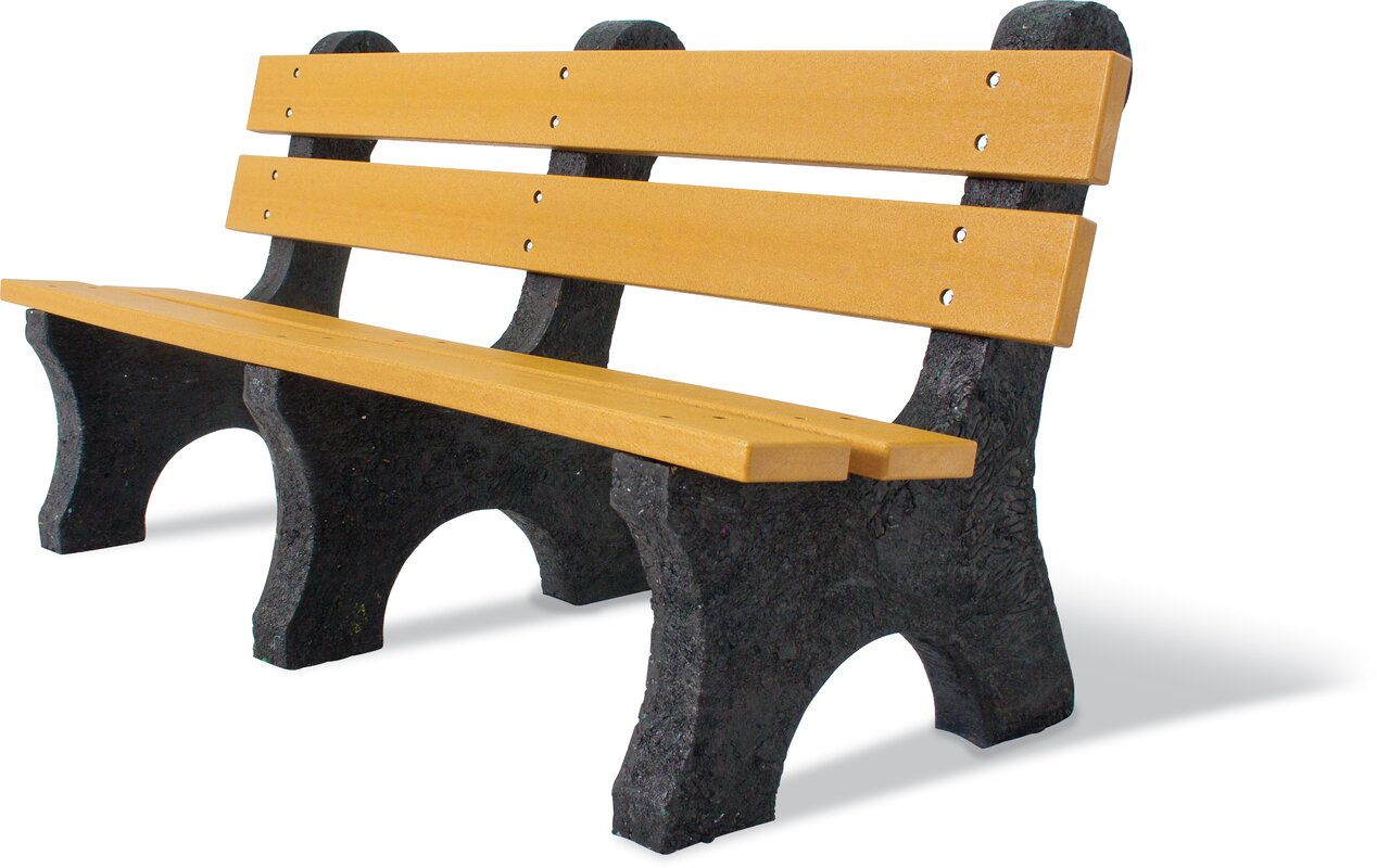 Ultrasite Recycled Plastic Portable Bench By Ultra Play