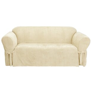 Sure Fit Soft Suede Sofa Slipcover