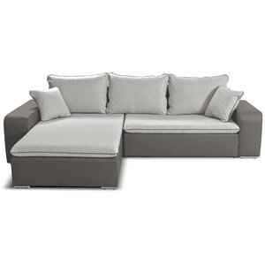 Ecksofa Cliff mit Bettfunktion von Home Loft Co..