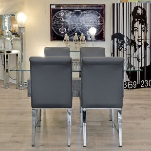 Tessa Set With 4 Chairs By Wade Logan